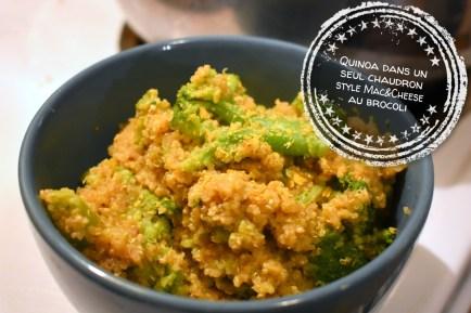 Quinoa dans un seul chaudron style Mac&Cheese au brocoli - Auboutdelalangue.com (8)