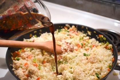 Riz de chou-fleur frit au poulet - Auboutdelalangue.com (7)