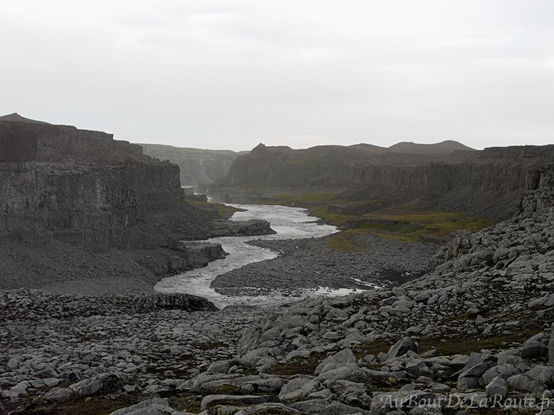 gorges du Jökulsárgljúfur
