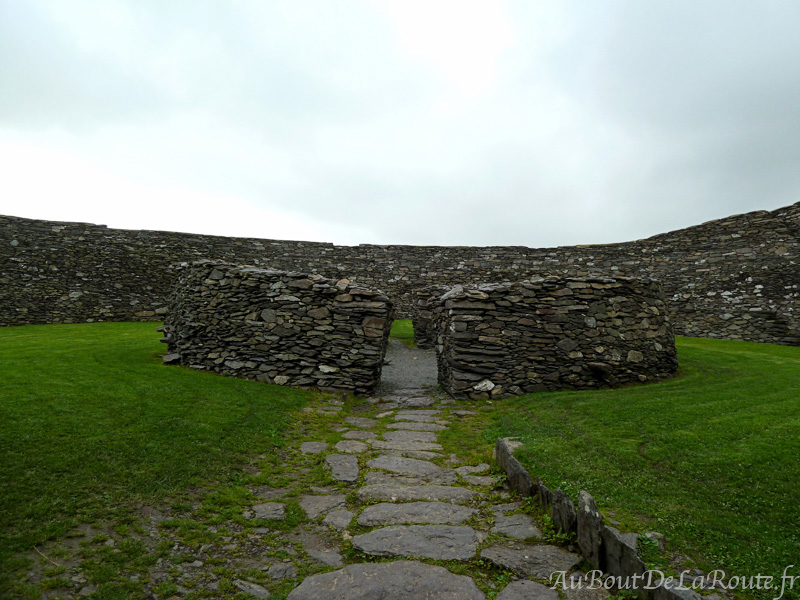 Cahergall Fort interieur
