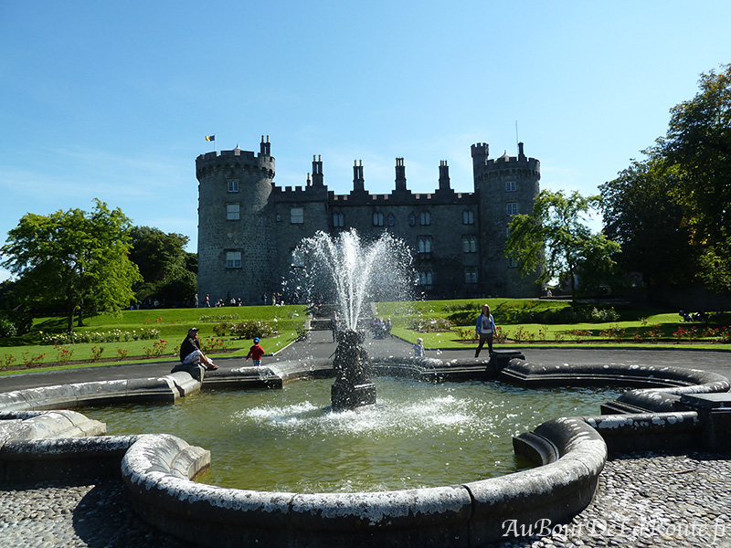 Chateau de Kilkenny fontaine