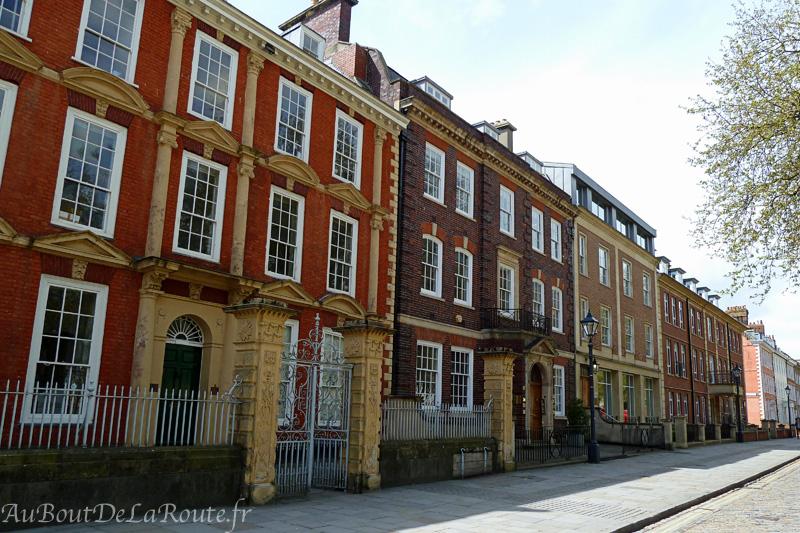Maisons de Queen Square