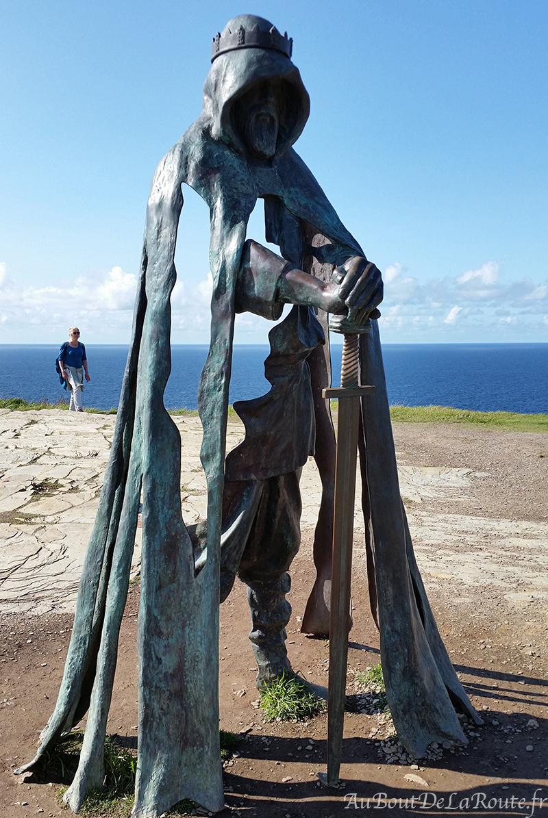 Statue du Roi Arthur