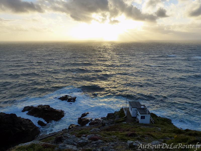Coucher soleil au Cap Cornwall
