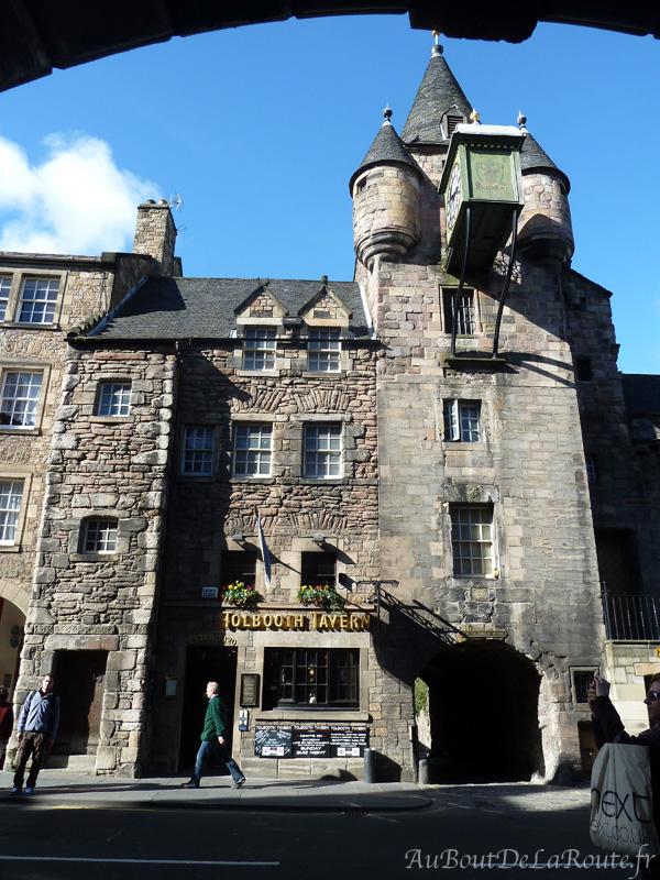 Tolbouth Tavern sur la Royal Mile