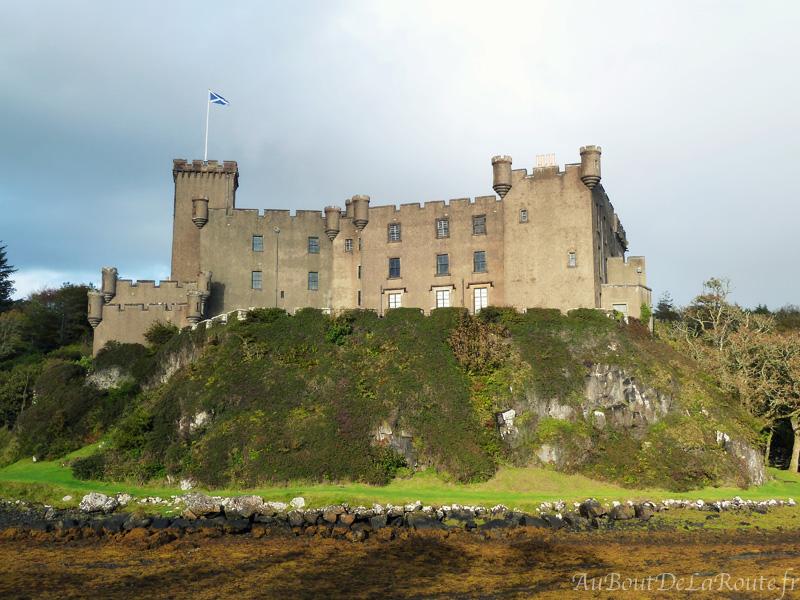 Facade Ouest Dunvegan Castle