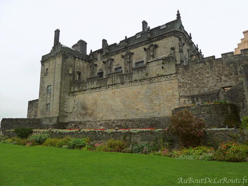 Queen Anne Garden et le palais