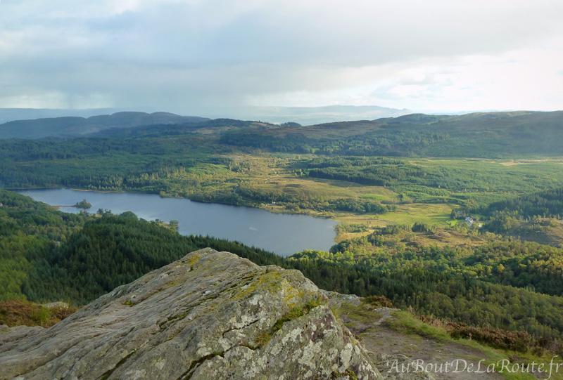 Loch Achray du Ben A an