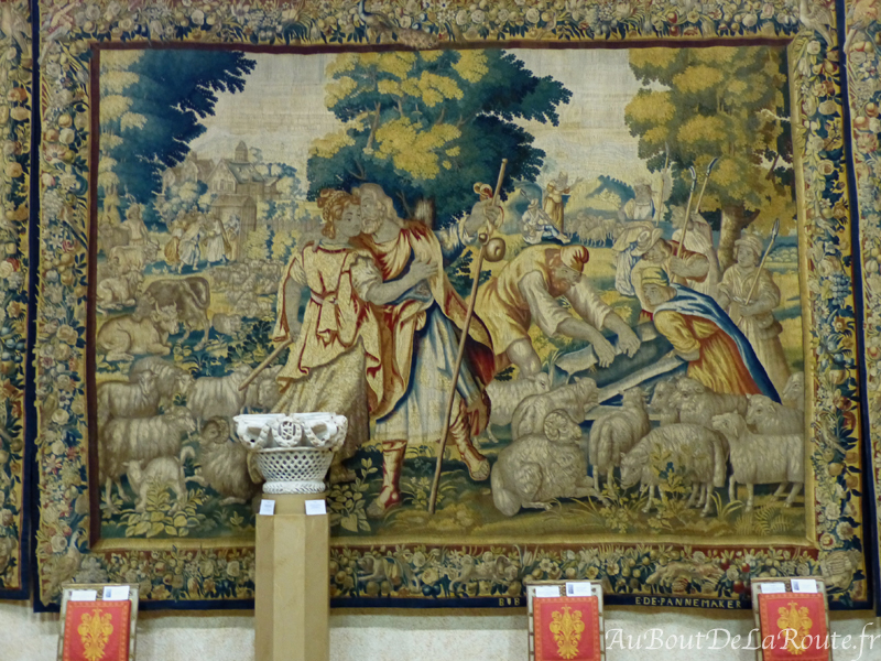 Tapisserie du Tresor de St Jean