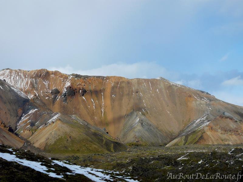 Montagnes rhyolitiques du Landmannalaugarl