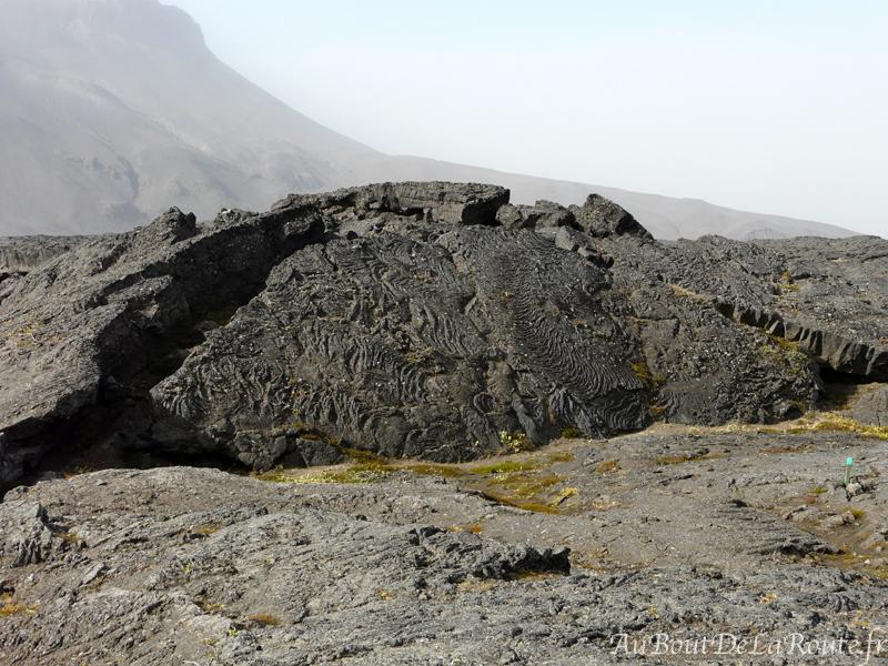 Champ de lave d Herðubreiðarlindir