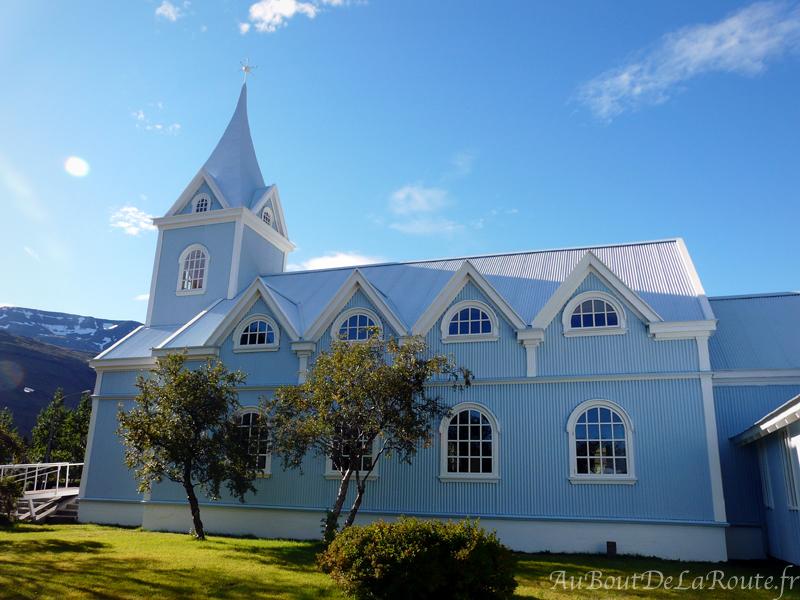 Eglise de Seyðisfjörður