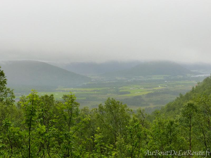 La vallée de Trollkirkedalen