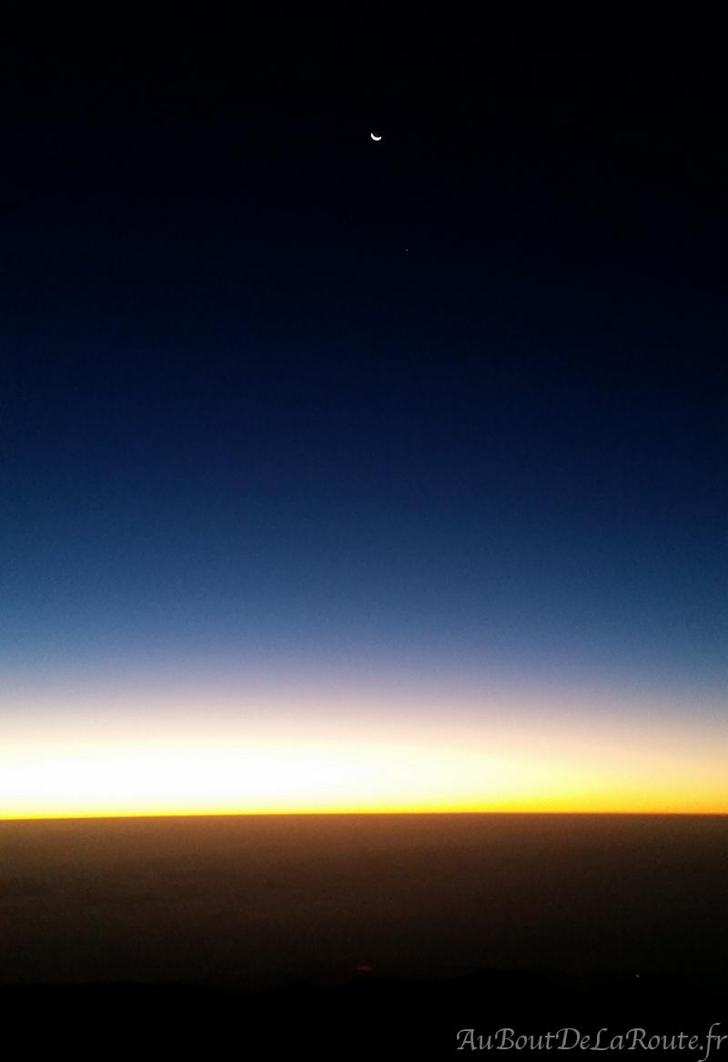Lune depuis le Teide