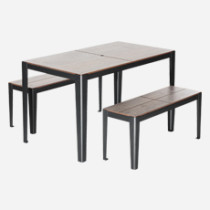 solea 4 seater table set outdoor