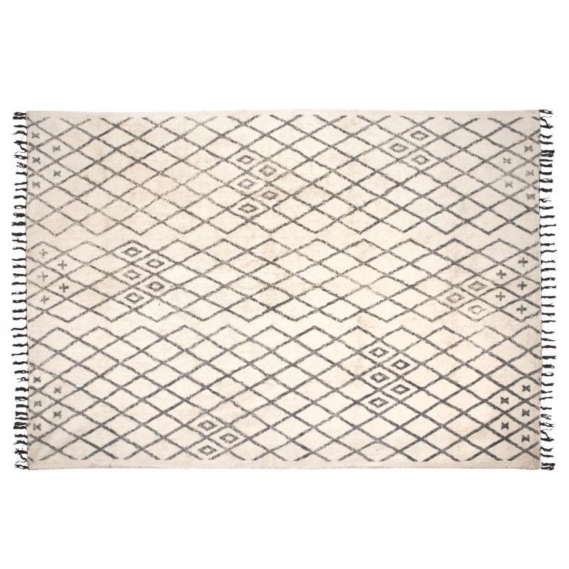 tapis berbere en coton nta1862 aubry gaspard