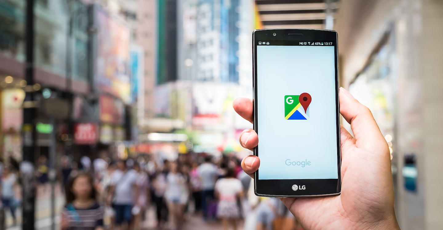 How to fix a broken Google map