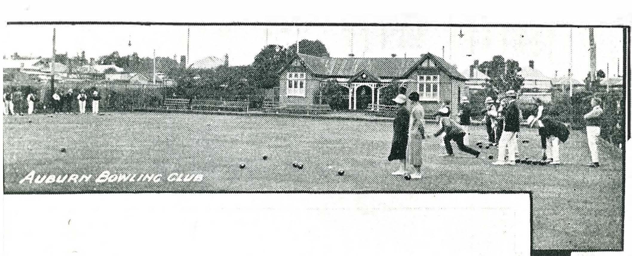 Auburn Bowls Club 1927