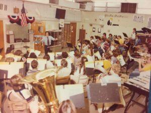 Original band building, 1979