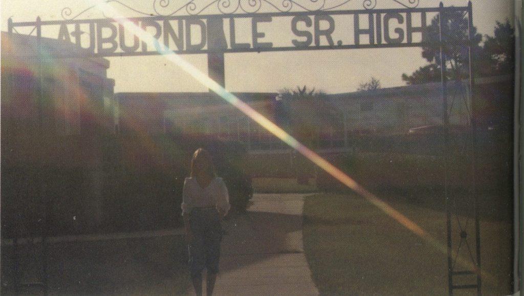 AHS sign, 1983