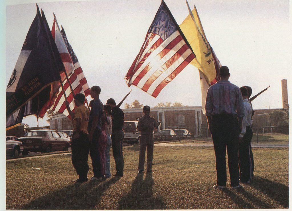 ROTC cadets, 1987