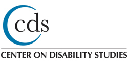 Center on Disability Studies (CDS) Logo