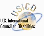 United States International Council on Disabilities (USICD) Logo