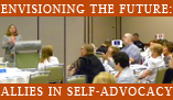Self-Advocacy Summits Badge for use on web