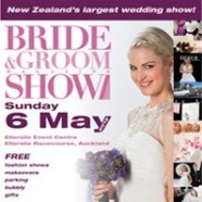 Auckland Wedding Celebrant at Bride and Groom Show