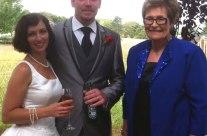 Neil and Lesa Cheeseman's Wedding