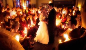 Unity Candles in Wedding traditions and rituals