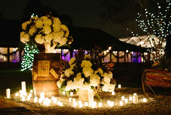 Top Wedding Trends in 2016 is Lighting using Candles