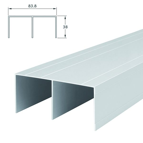 profil soft ferrure de portes coulissantes bois