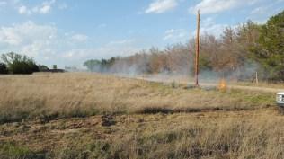 Burning prairie