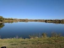 Barber County lake