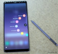 Samsung Galaxy Note8 review S-pen