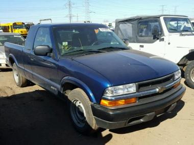 Used 2000 CHEVROLET S10 Car For Sale At AuctionExport Make   Chevrolet Model   S10 Year   2000  Mileage   94244 Exempt Exterior  Color   BLUE Interior Color   Drivetrain   Rear wheel drive