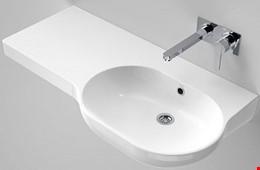 Caroma Opal 920mm Ceramic Bathroom Wall Basin - Brand New - RRP 00.00