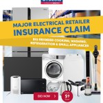 Major Electrical Retailer Insurance Claim   Big Branded Cooking, Washing, Refrigeration and Small Appliances.   BID NOW! From $9 Start