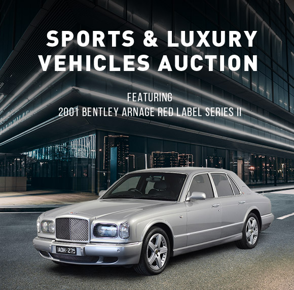 Sports and Luxury Vehicles Auction | 2001 Bentley ARNAGE RED LABEL Series II Automatic Sedan | BID NOW!