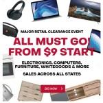 Major Retailer Clearance Sale | BID NOW!