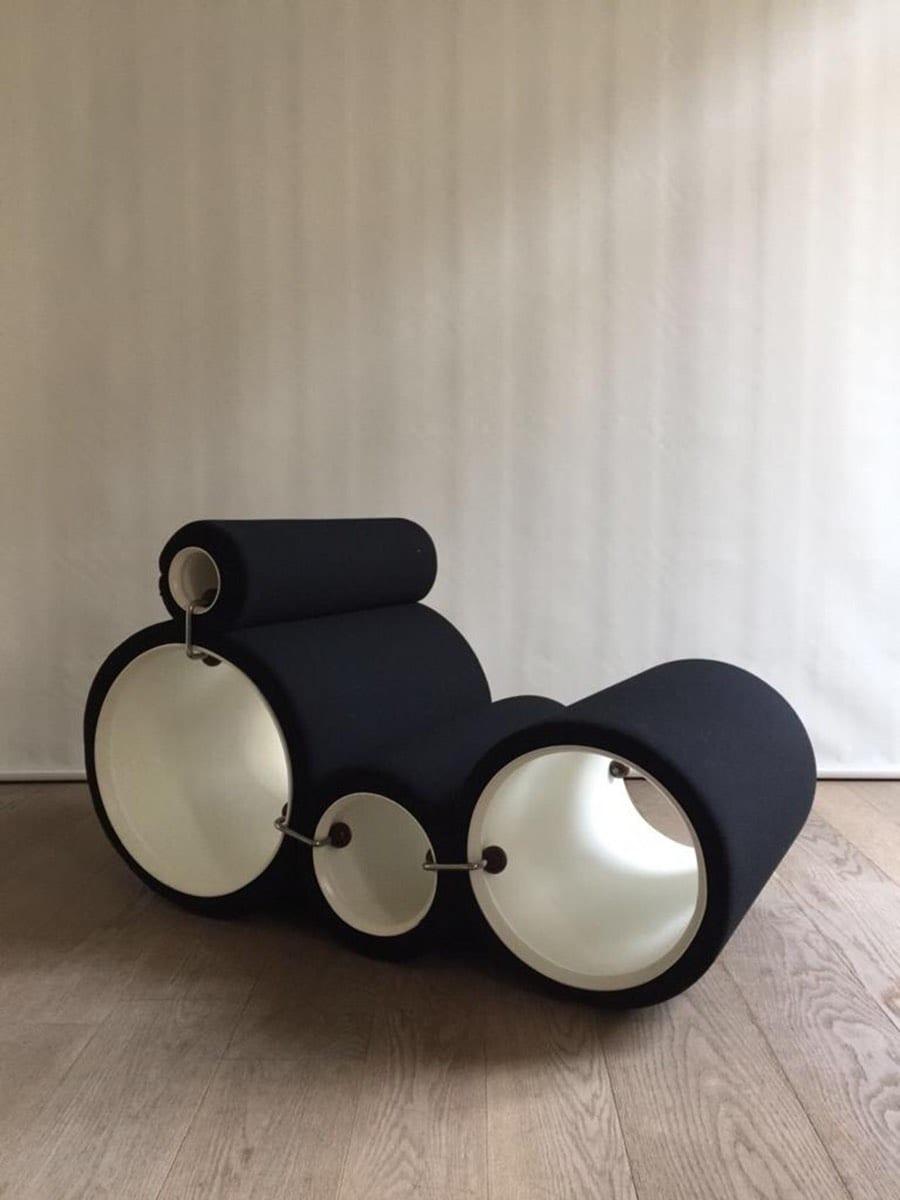 Joe Colombo - Tube Chair - 1970 - Édition Flexform