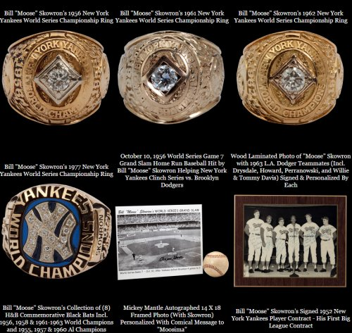 Scp Auctions Presents The Bill Moose Skowron Collection Auction