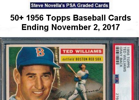 Steve Novella Offers 50 1956 Topps Baseball Cards Grading