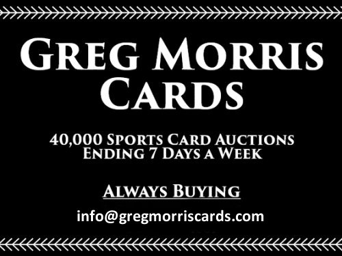 Greg Morris Cards Offers 1000s Of Daily Auctions Of Sports Cards
