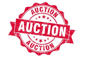 2019 Auction Schedule