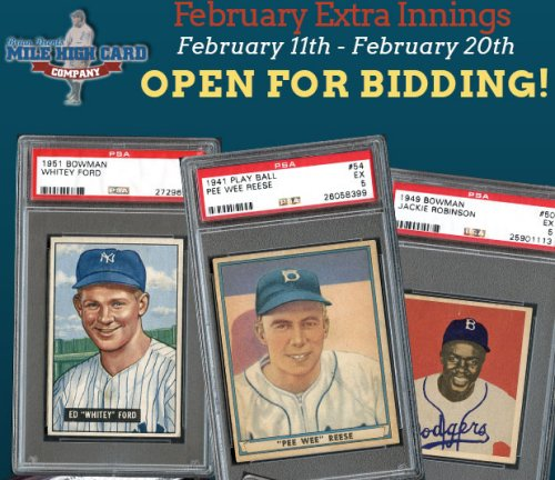 Mile High Card Company Extra Innings Auction Closes