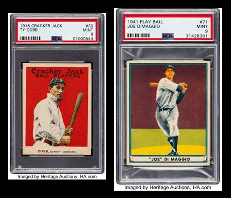 Heritage Auctions Bidders Fuel Blazing Sports Card Market In