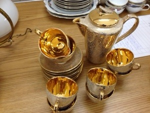 Golden Tea Set
