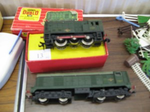 Two Hornby Duplo Shunting Engines